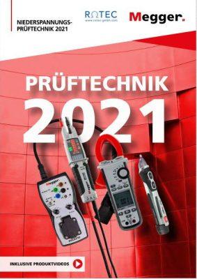 MEGGER Katalog Prüftechnik 2021